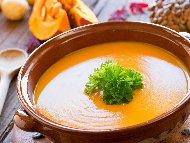 Крем супа от тиква, тиквички, картофи и моркови